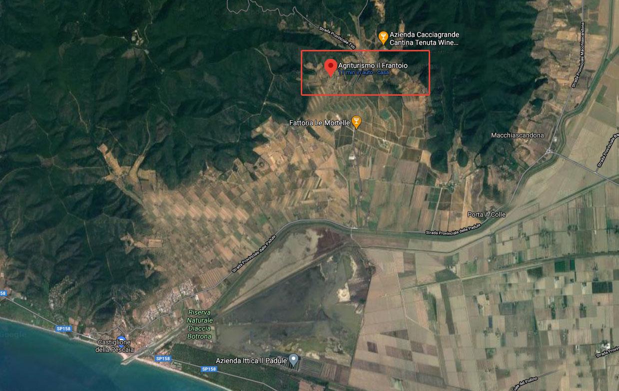 Castiglione-della-Pescaia-Agriturismo-Il-Frantoio-Attività-ed-Escursioni-nei-dintorni PUNTO DI PARTENZA STRATEGICO